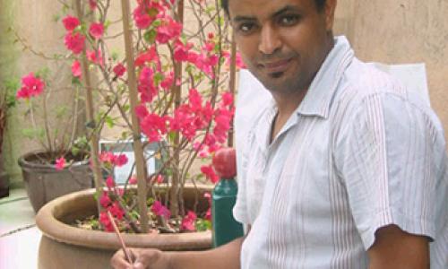 Portrait of Hicham Chajai