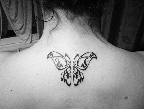 Hicham Chajai neck butterfly